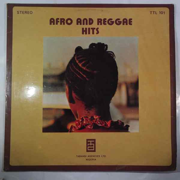 VARIOUS - Afro and Reggae hits - LP