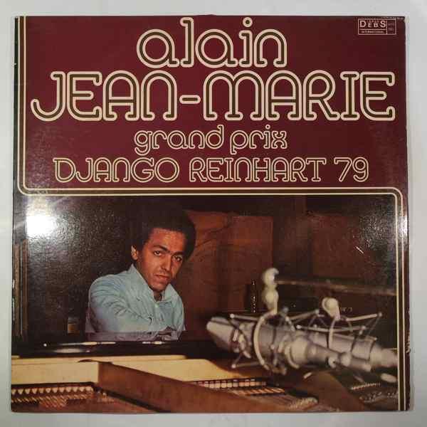 ALAIN JEAN-MARIE - Grand Prix Django Reinhardt 79 - LP