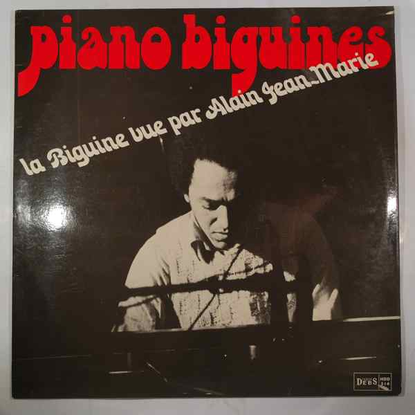 ALAIN JEAN-MARIE - Piano Biguines - LP
