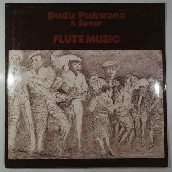 DUDU PUKWANA & SPEAR - Flute Music - LP