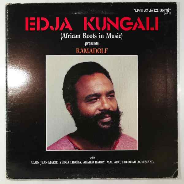 EDJA KUNGALI - Presents Ramadolf - LP
