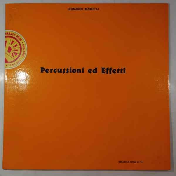 LEONARDO MARLETTA - Percussioni ed effetti - LP