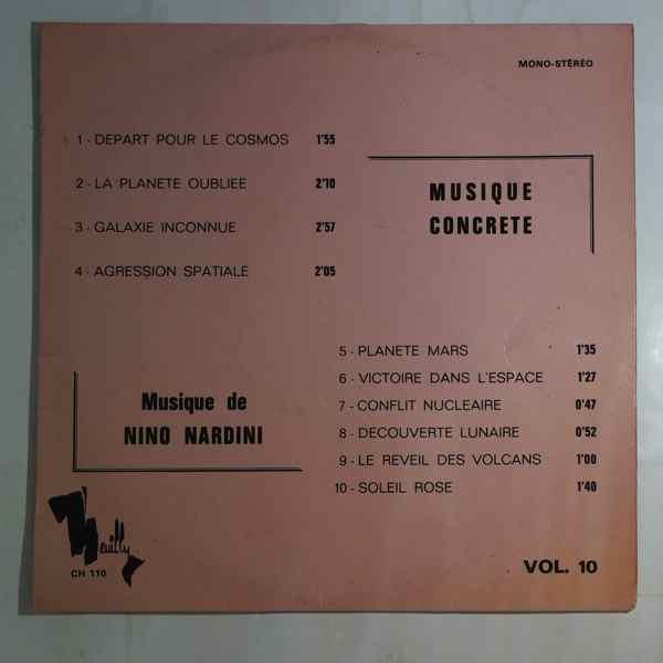 NINO NARDINI - Musique concrete - 10 inch