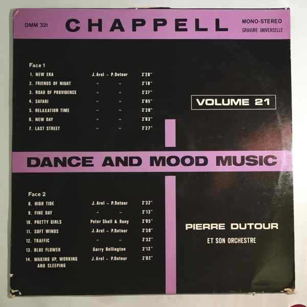 PIERRE DUTOUR - Dance and mood music Volume 21 - LP