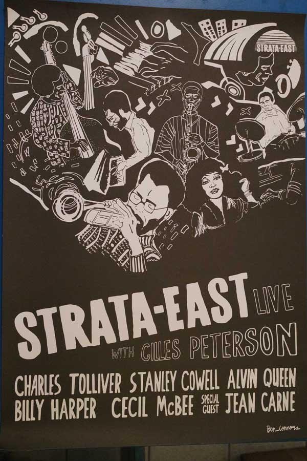 Strata East All Stars Live With Gilles Peterson Poster