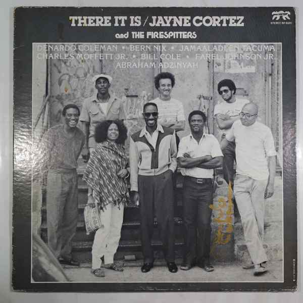 JAYNE CORTEZ AND THE FIRESPITTERS - There It Is - LP