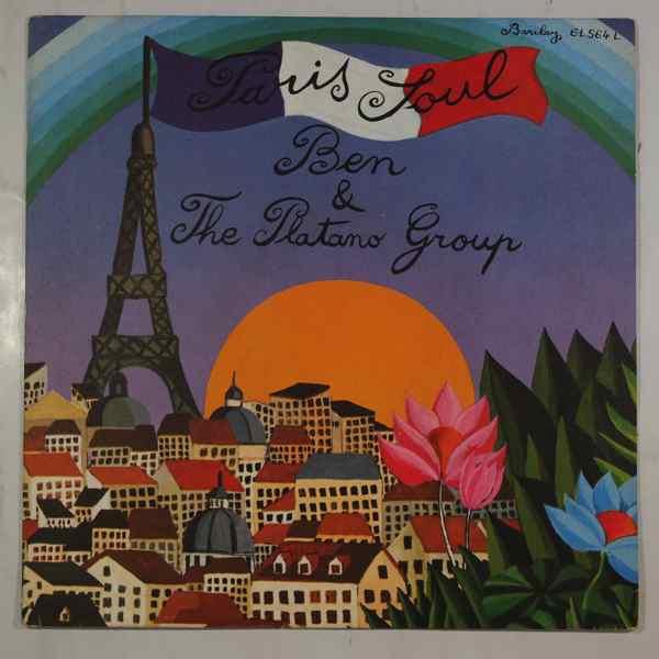 BEN & THE PLATANO GROUP - Paris Soul / Cabaret - 7inch (SP)