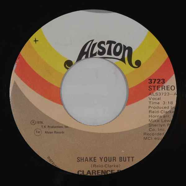 CLARENCE REID - Shake your butt / Caution love ahead - 7inch (SP)