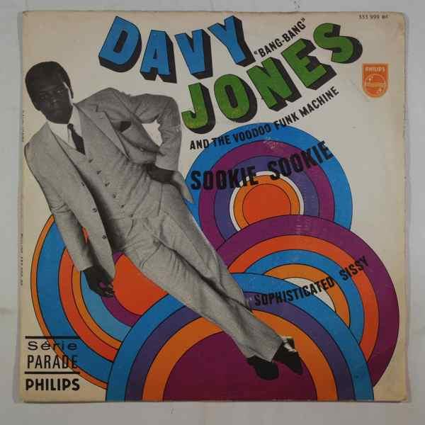 DAVY JONES AND THE VOODOO FUNK MACHINE - Sookie Sookie - 7inch (SP)