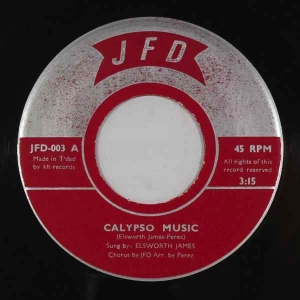 ELSWORTH JAMES - Calypso music - 7inch (SP)