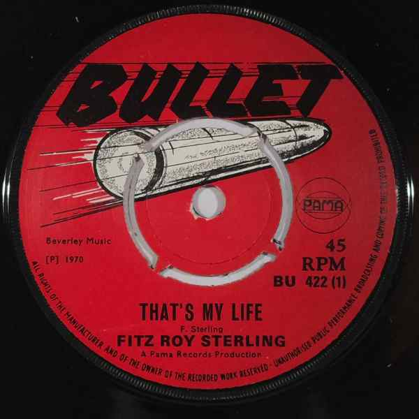FITZ ROY STERLING - That's my life - 7inch (SP)