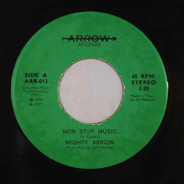 MIGHTY ARROW - Disco calypso - 7inch (SP)