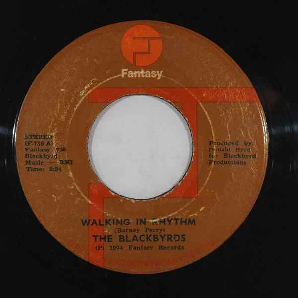THE BLACKBYRDS - Walking in rhythm - 7inch (SP)
