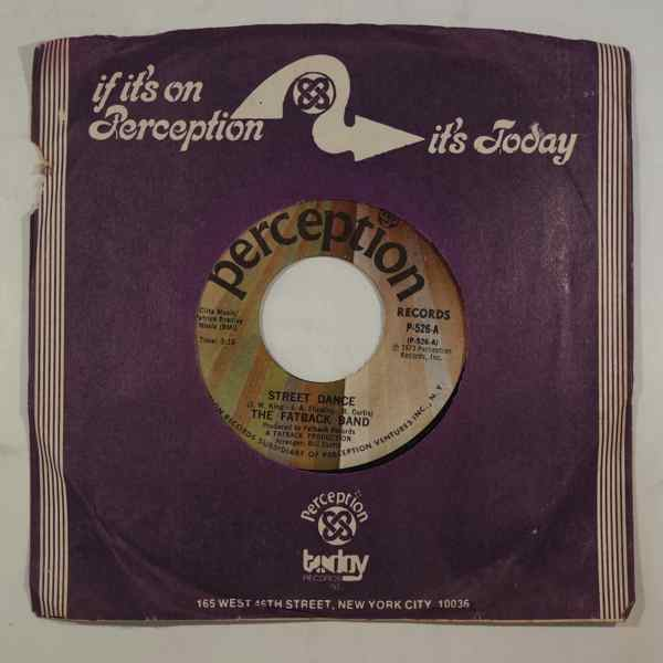 THE FATBACK BAND - Street Dance /  Goin' To See My Baby - 7inch (SP)