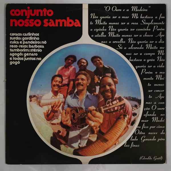 CONJUNTO NOSSO SAMBA - Same - LP