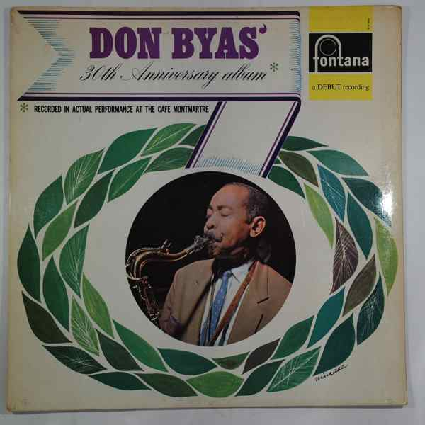 DON BYAS - Don Byas 30th Anniversary Album - LP