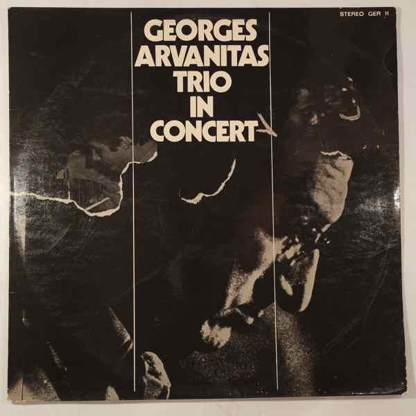 GEORGES ARVANITAS TRIO - In Concert - LP