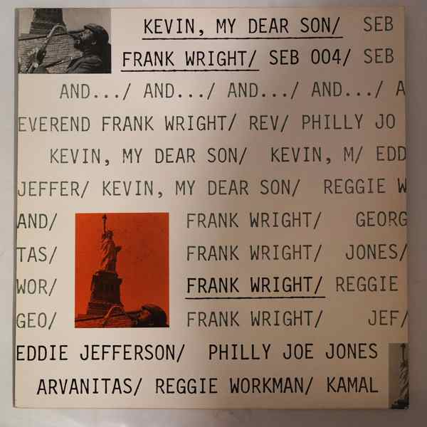 FRANK WRIGHT - Kevin, My Dear Son - LP