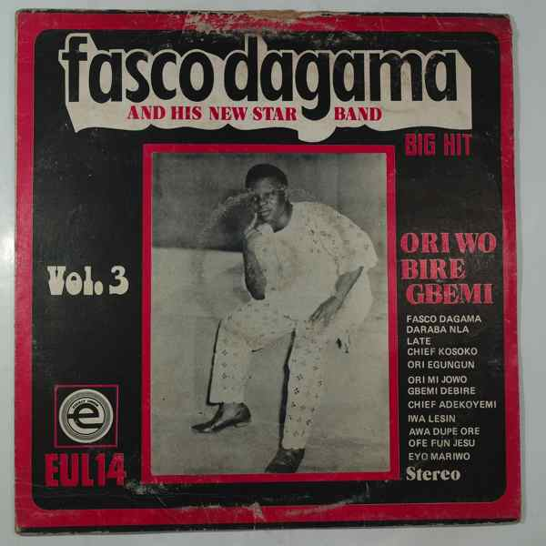FASCO DAGAMA AND HIS NEW STAR BAND - Vol.3 - LP