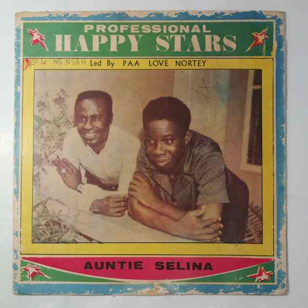 PROFESSIONAL HAPPY STARS - Auntie selina - LP