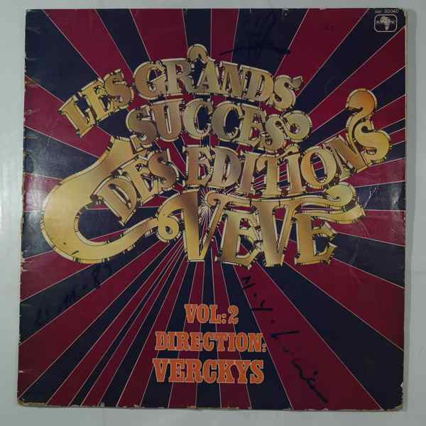 VARIOUS - Les grands succes des editions Veve Vol. 2 - LP