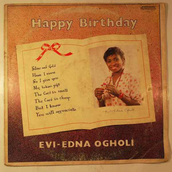 EVI-EDNA OGHOLI - Happy birthday - LP