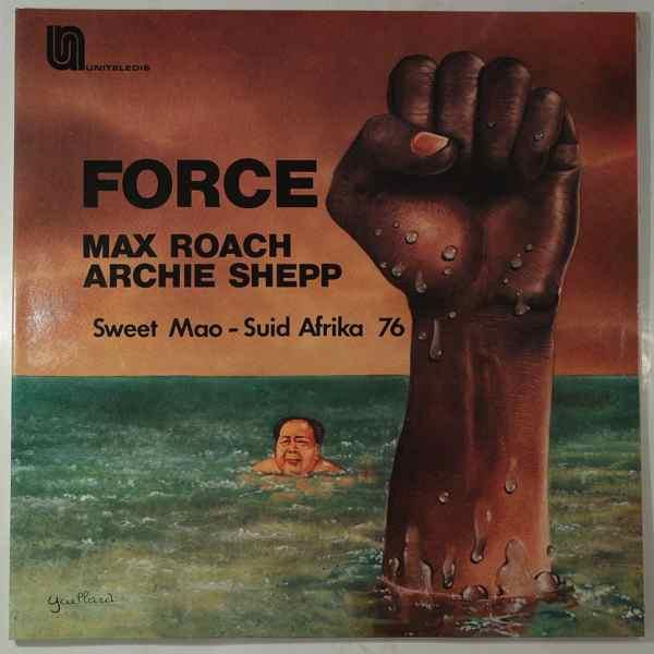 MAX ROACH ARCHIE SHEPP - Force - LP x 2