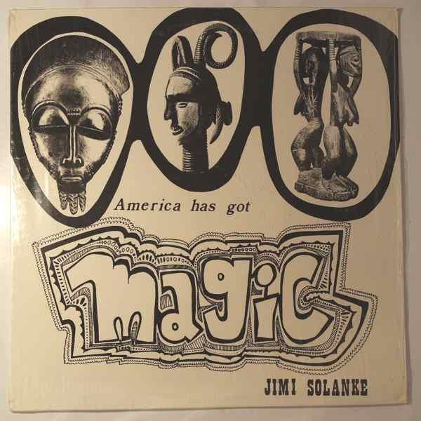 JIMI SOLANKE - Amercia has got magic - LP