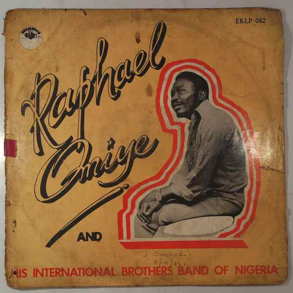 RAPHAEL OMIYE AND HIS INTERNATIONAL BROTHERS BAND  - Same - LP