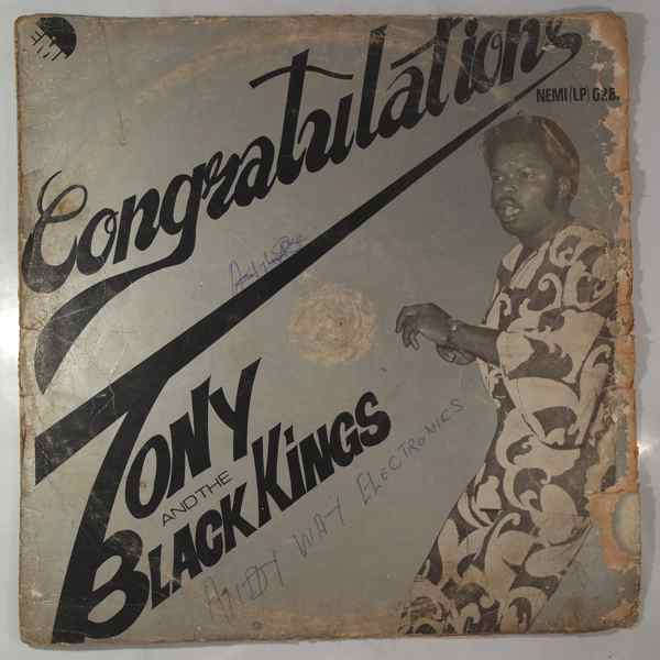 TONY GREY AND BLACK KINGS - Congratulations - LP