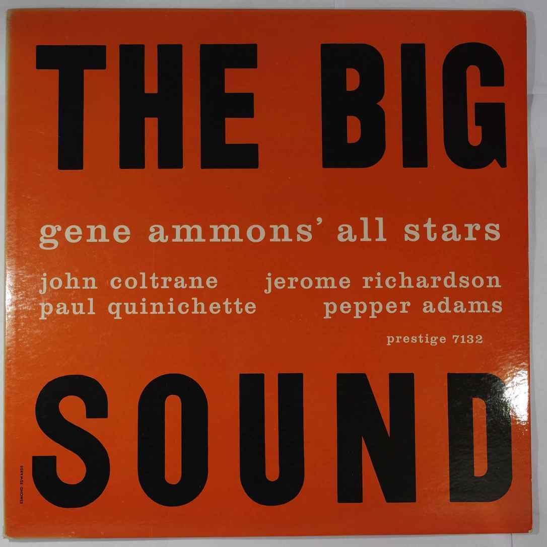 GENE AMMONS ALL STARS - The Big Sound - LP