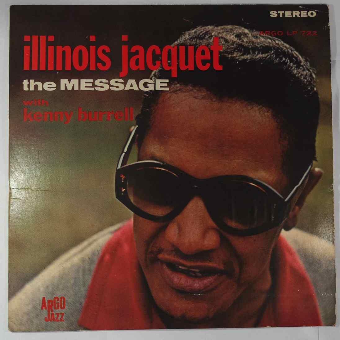 ILLINOIS JACQUET - The Message - LP