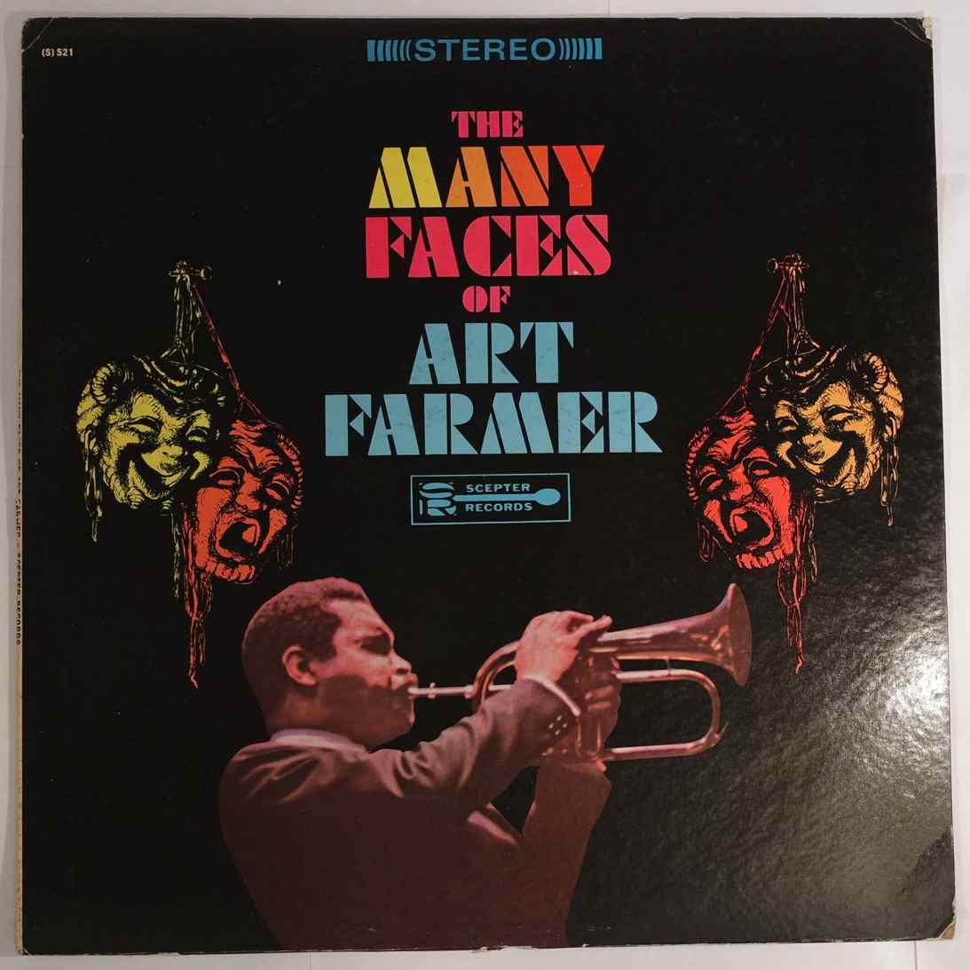 ART FARMER - The Many Faces Of Art Farmer - LP