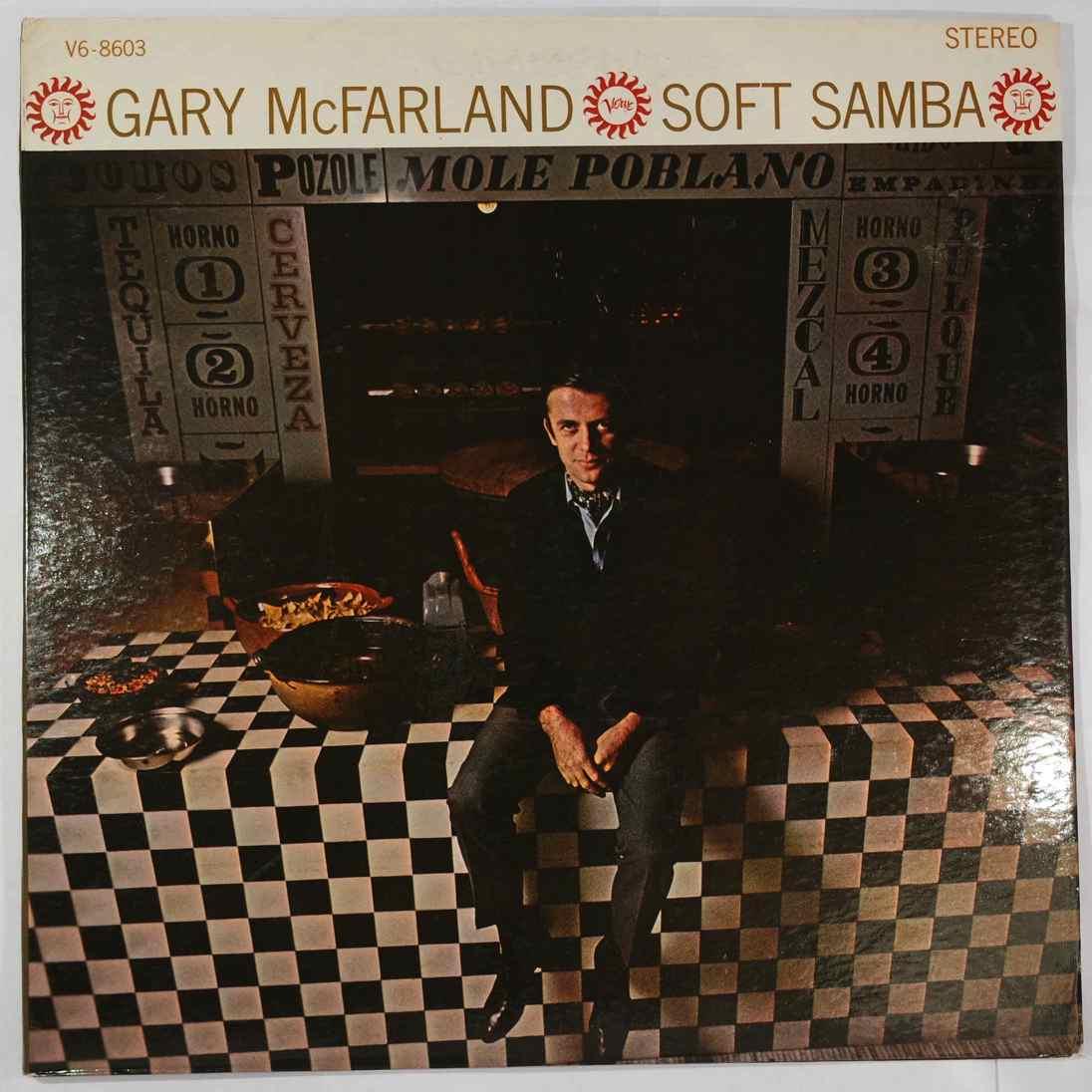 GARY MCFARLAND - Soft Samba - LP