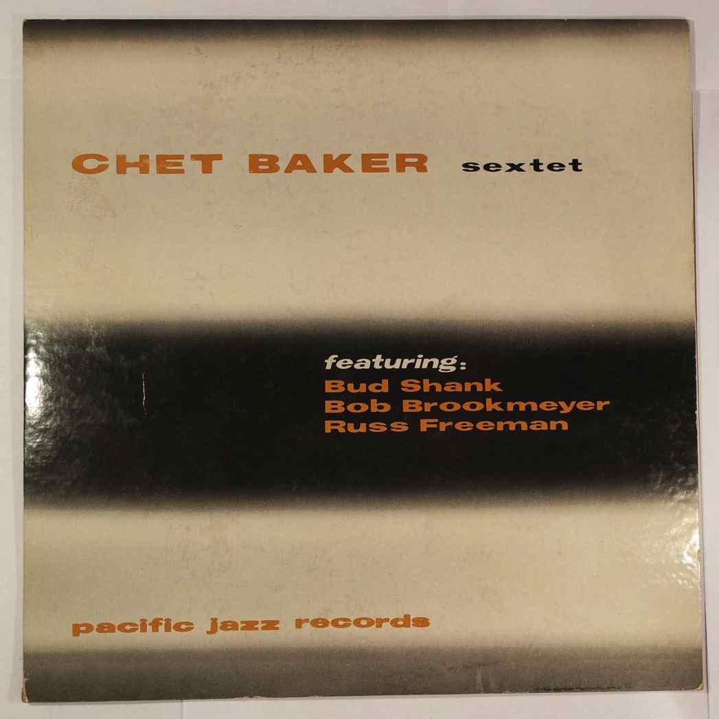 CHET BAKER SEXTET - Same - 10 inch