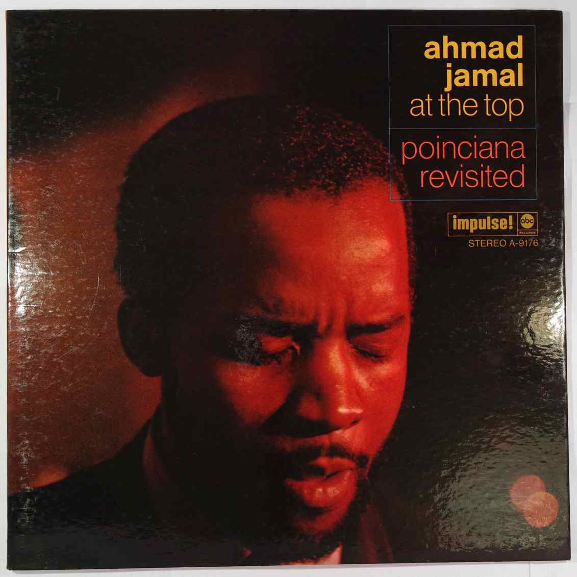 AHMAD JAMAL - At The Top (Poinciana Revisited) - LP