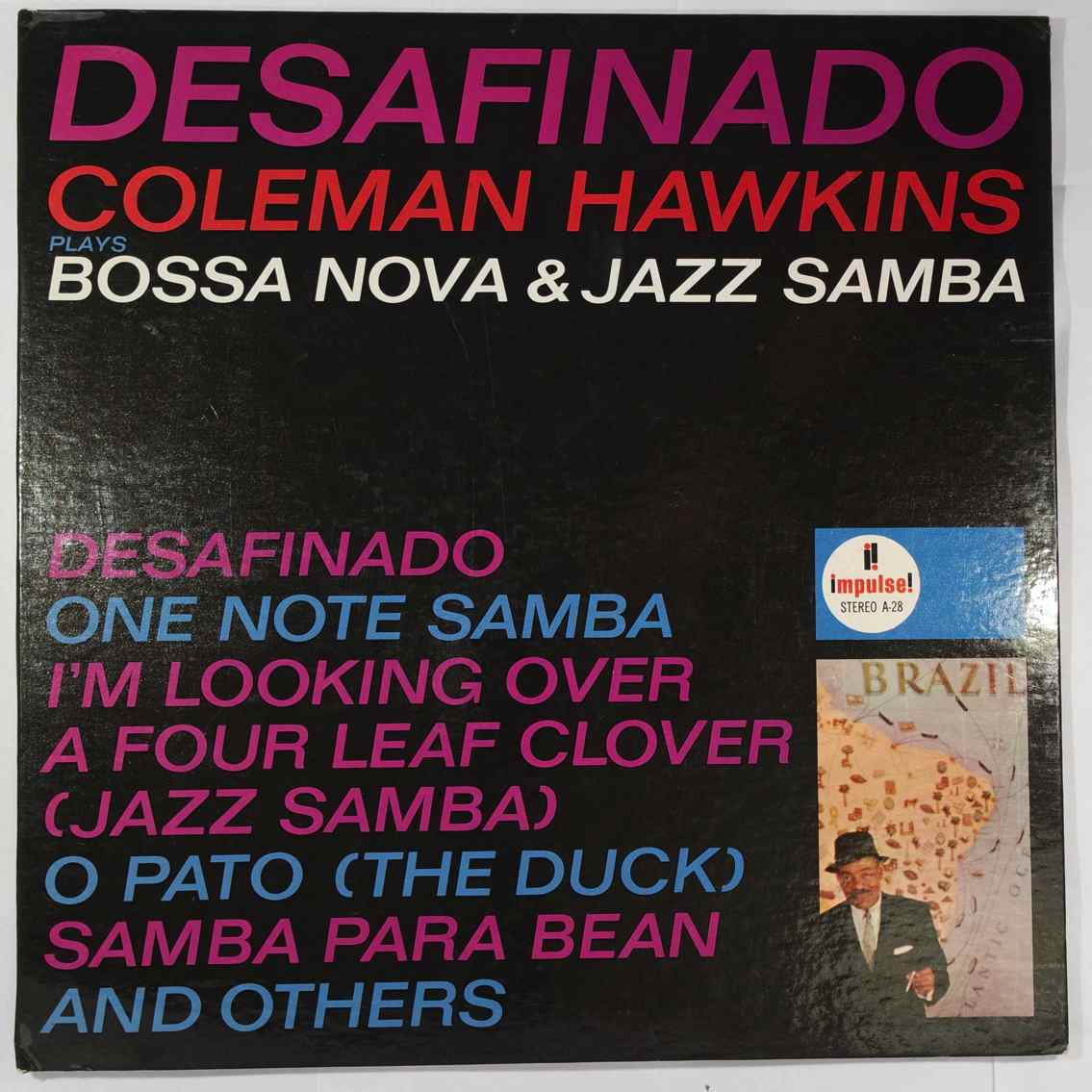 COLEMAN HAWKINS - Desafinado (Coleman Hawkins Plays Bossa Nova & Jazz Samba) - LP