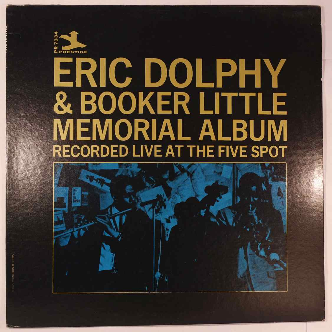 ERIC DOLPHY & BOOKER LITTLE - Memorial Album (Recorded Live At The Five Spot) - LP