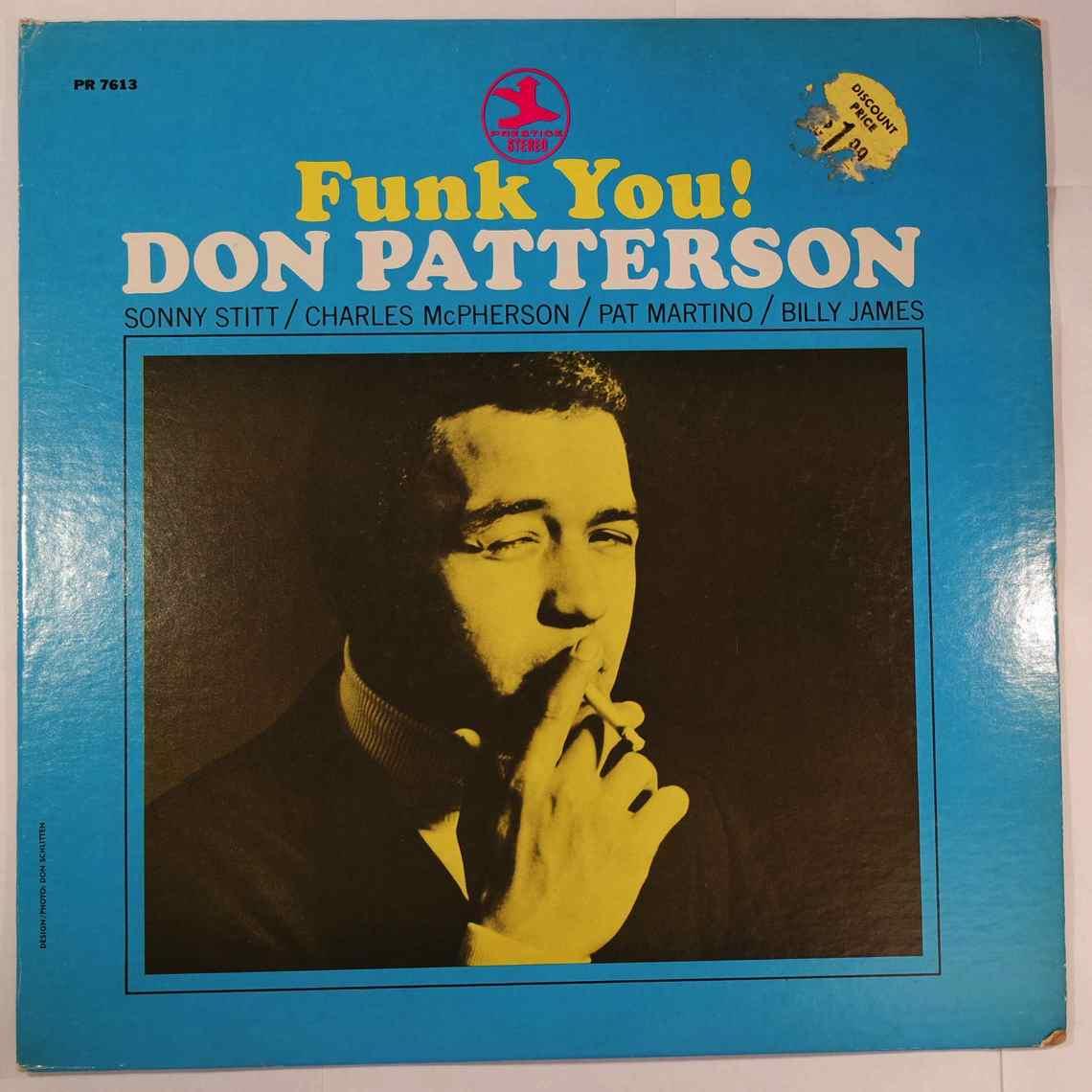 Don Patterson Funk You!