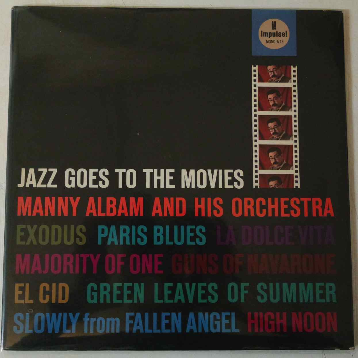 MANNY ALBAM AND HIS ORCHESTRA - Jazz Goes To The Movies - LP