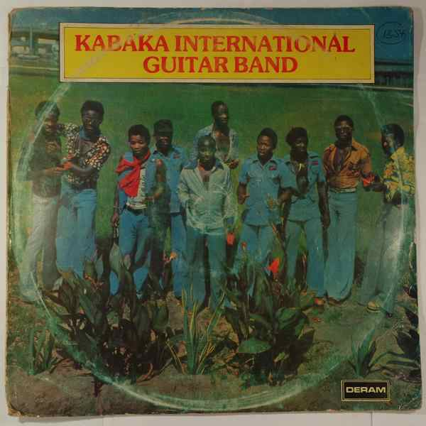 KABAKA INTERNATIONAL GUITAR BAND - Same - LP