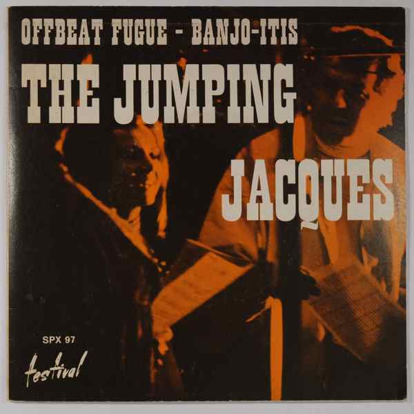 THE JUMPING JACQUES - Offbeat Fugue / Banjo-Itis - 45T (SP 2 titres)