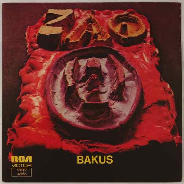 ZAO - Bakus - 45T (SP 2 titres)