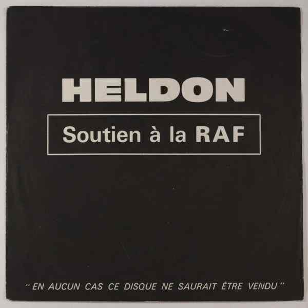 HELDON - Soutien A La RAF - 45T (SP 2 titres)