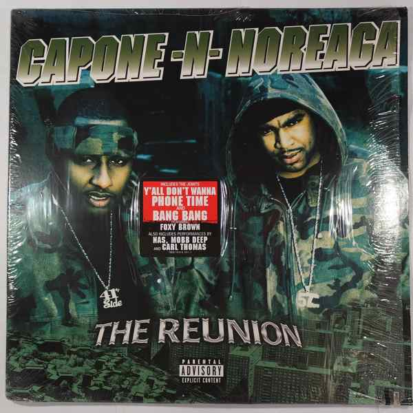 capone n noreaga the reunion lp x 2 for sale on superflyrecords com