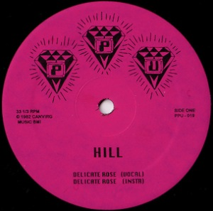 ROSHELL ANDERSON / WILLIE HILL - Wild dreams / Delicate rose - 12 inch 45 rpm