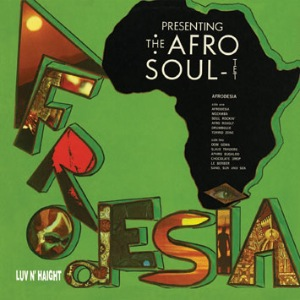 THE AFRO-SOULTET - Afrodesia - LP