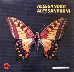 ALESSANDRO ALESSANDRONI - Same - LP