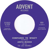 ANITA MOORE AND THE TSU JAZZ ENSEMBLE - Compared to what - 7inch (SP)