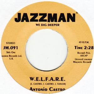 ANTONIO CASTRO - W.E.L.F.A.R.E - 7inch (SP)